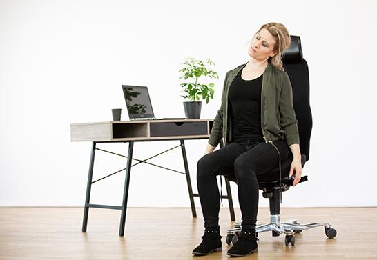 Mikroträning Stretcha på stolen